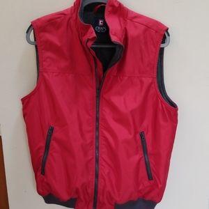 Chaps   Men's Red vest Size M   NWOT!